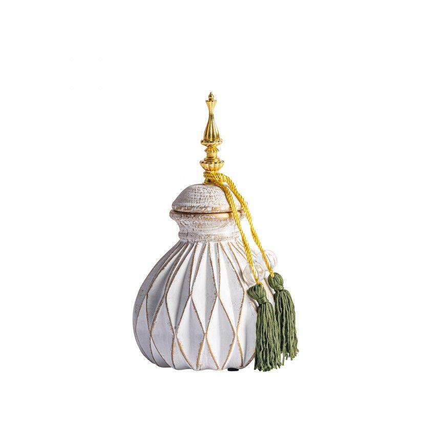 Mehmet peça decorativa 15x15x25cm 28752