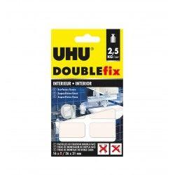 UHU DOUBLE FIX TIRAS DUPLA FACE 26X31MM PACK 16